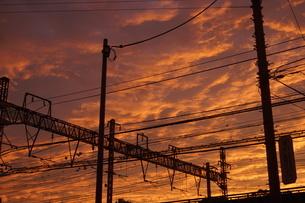 夕景イメージの写真素材 [FYI02983425]