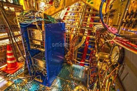 ケーブル・配線イメージの写真素材 [FYI02983537]