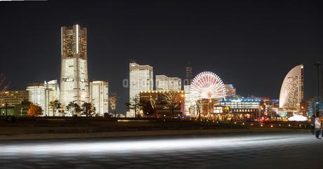 横浜夜景の写真素材 [FYI02983575]