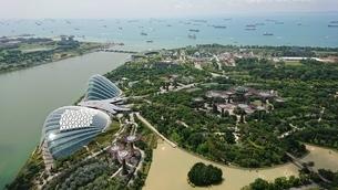 Singapore Bayの写真素材 [FYI02983650]