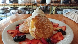 Pancakeの写真素材 [FYI02983688]