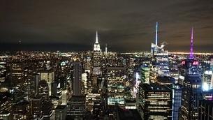 NY night Viewの写真素材 [FYI02983696]