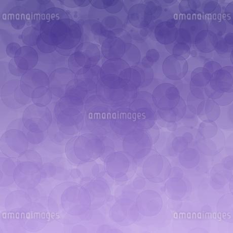 シャボンボケ 紫のイラスト素材 [FYI02983735]