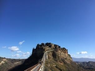 Civita di Bagnoregioの写真素材 [FYI02983846]