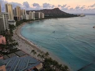 Waikiki Beachの写真素材 [FYI02983871]