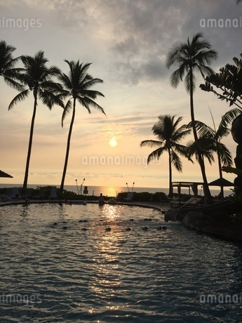 Sunset in Big lslandの写真素材 [FYI02983911]