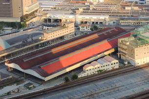 2013年に廃駅となった梅田貨物駅の写真素材 [FYI02983996]