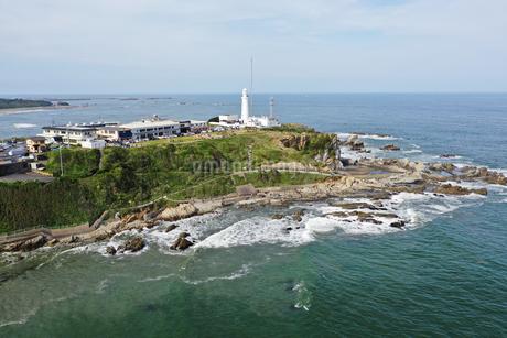 空撮した犬吠埼灯台の写真素材 [FYI02984078]