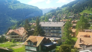 スイス ユングフラウ地方 ウェンゲン 5の写真素材 [FYI02984223]