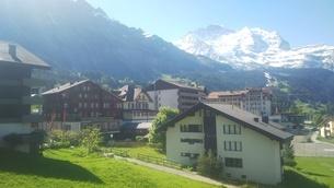 スイス ユングフラウ地方 ウェンゲン 11の写真素材 [FYI02984229]