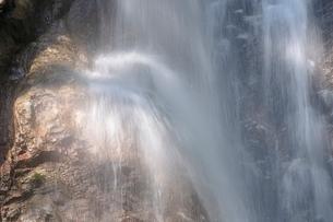西丹沢 本棚の滝の写真素材 [FYI02984506]