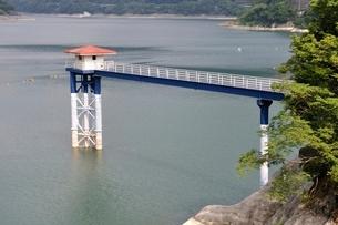 丹沢湖の写真素材 [FYI02984562]
