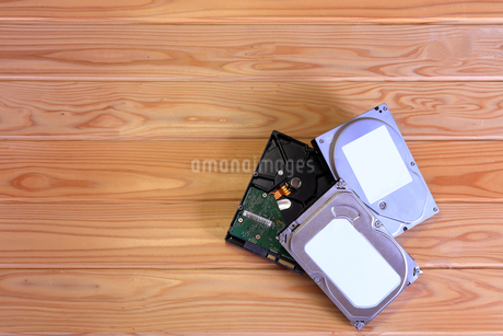 ハードディスクの写真素材 [FYI02984856]