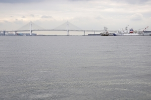 横浜ベイブリッジの写真素材 [FYI02984929]