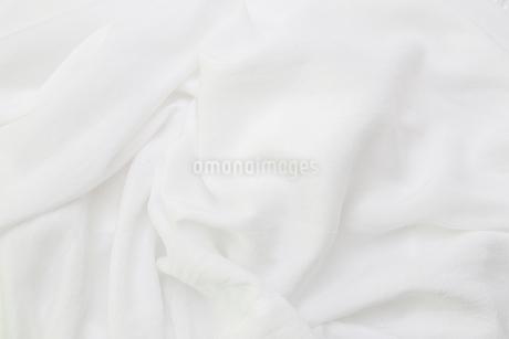 白い木綿布の写真素材 [FYI02985034]