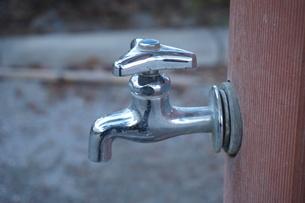 水道の蛇口の写真素材 [FYI02985067]