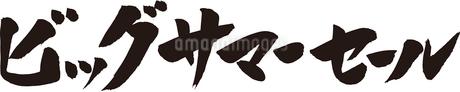 ビッグサマーセールのイラスト素材 [FYI02985099]