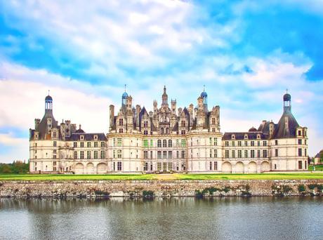 フランス 世界遺産 シャンボール城の写真素材 [FYI02985394]