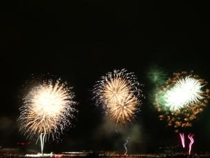 みなと神戸花火大会14の写真素材 [FYI02985440]