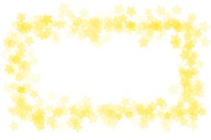 星 フレーム 四角のイラスト素材 [FYI02985479]