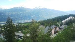 スイス バレー州 クランモンタナ 1の写真素材 [FYI02985566]