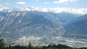 スイス バレー州 クランモンタナ 4の写真素材 [FYI02985570]