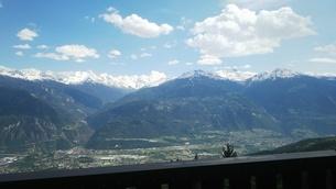 スイス バレー州 クランモンタナ 6の写真素材 [FYI02985576]