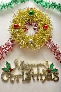 クリスマスオーナメントの写真素材 [FYI02985636]