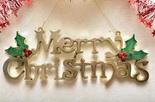 クリスマスオーナメントの写真素材 [FYI02985646]