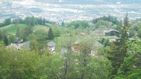 スイス バレー州 クランモンタナ 7の写真素材 [FYI02985751]