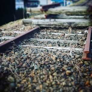 廃線列車の写真素材 [FYI02985912]