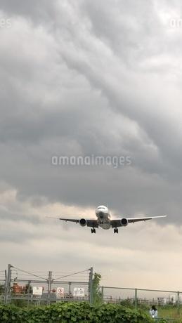 着陸前の写真素材 [FYI02986004]