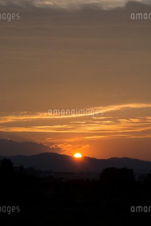 美しい夕暮れの空の写真素材 [FYI02986041]