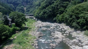玖珠川in大分の写真素材 [FYI02986163]