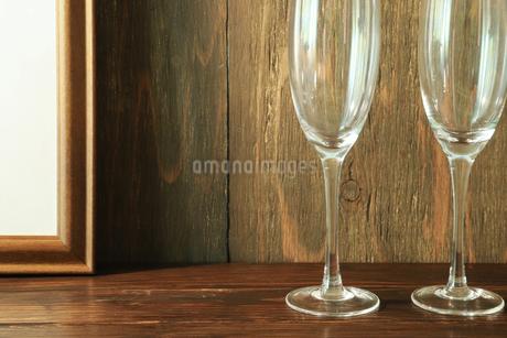 空のグラスの写真素材 [FYI02986284]