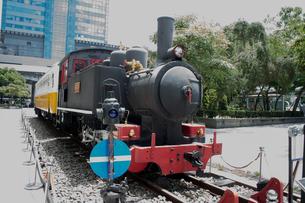 蒸気機関車LDK58 台北駅の写真素材 [FYI02986392]