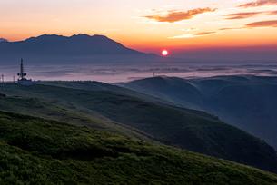 阿蘇大観峰の写真素材 [FYI02986664]