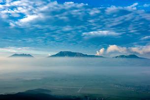 阿蘇大観峰より阿蘇五岳を望むの写真素材 [FYI02986667]