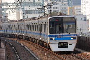 北総鉄道 7300形電車の写真素材 [FYI02987622]