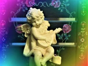 天使の子の写真素材 [FYI02987655]