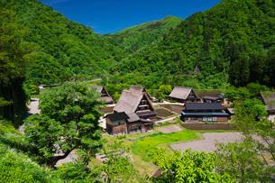 菅沼合掌造り集落の写真素材 [FYI02987885]