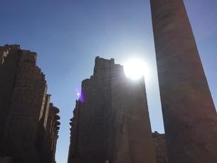 Karnak Templeの写真素材 [FYI02987899]