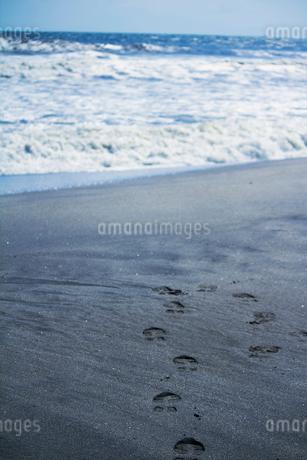 足跡の写真素材 [FYI02988144]