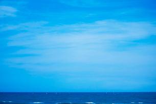 水平線の写真素材 [FYI02988154]