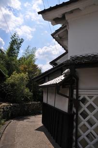 岩村町 路地裏の写真素材 [FYI02988858]