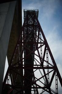 旧余部鉄橋(鉄道遺構)の写真素材 [FYI02989014]