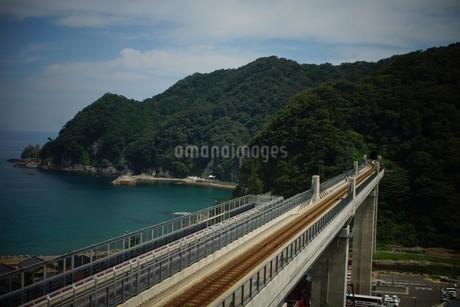 餘部鉄橋の風景の写真素材 [FYI02989015]