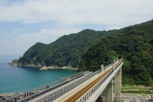 餘部鉄橋の風景の写真素材 [FYI02989018]