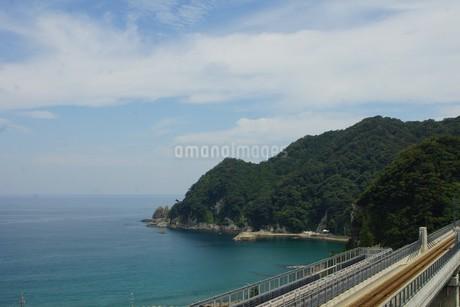 餘部鉄橋の風景の写真素材 [FYI02989019]