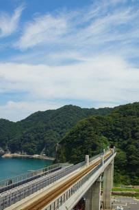 餘部鉄橋の風景の写真素材 [FYI02989020]